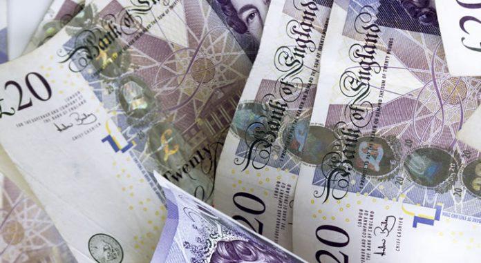 operación de scalping en el futuro de la libra