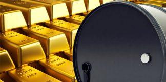 Crudo y oro