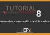 Tutorial 3 NinjaTrader 8 de Sistema EPyF: ¿Cómo cambiar el aspecto (skin o capa) de la aplicación?