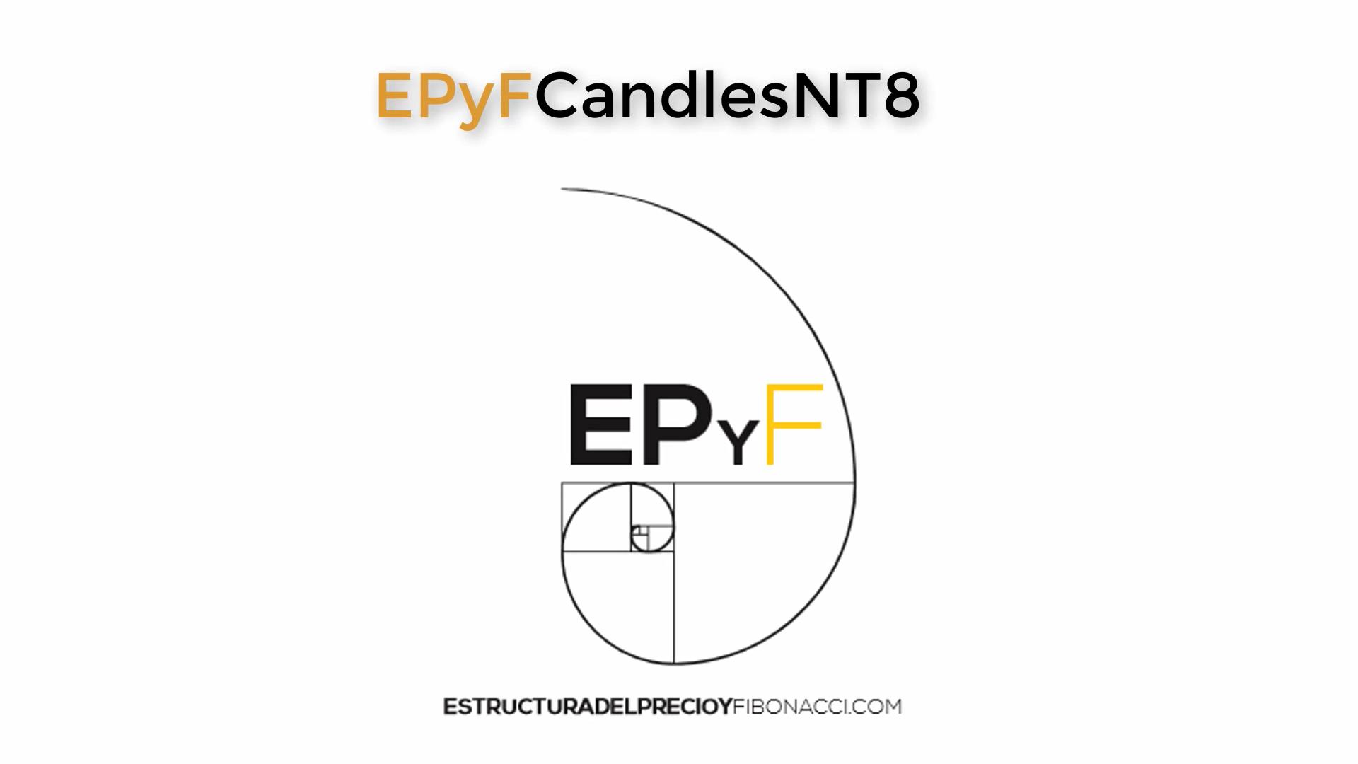 EPyF Candles] Velas con patrones OBJETIVOS para NinjaTrader 8️⃣