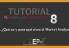 Tutorial 15 NinjaTrader 8 de Sistema EPyF: ¿Qué es y para qué sirve el Market Analyzer?