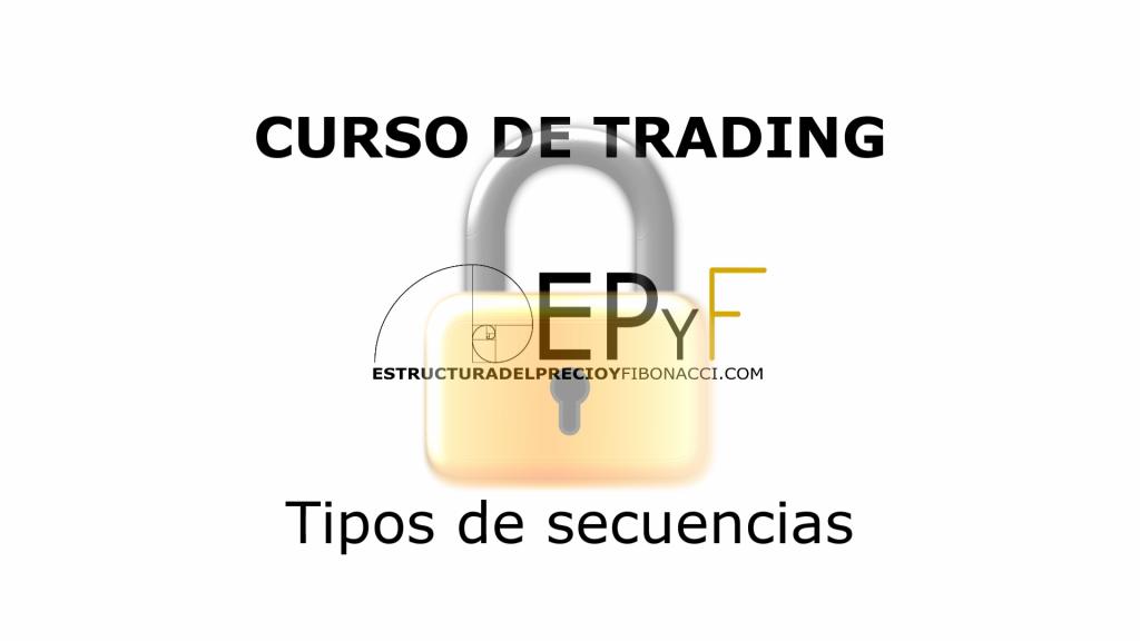 Curso de trading gratuito EPyF - Tipos de secuencias