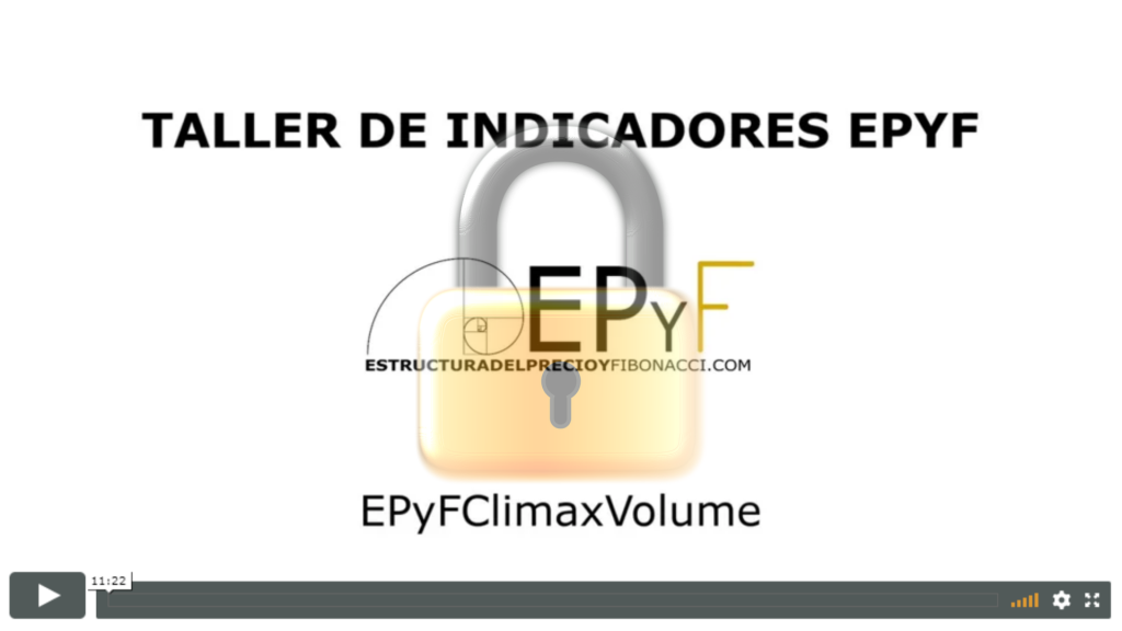 Taller de indicadores NinjaTrader EPyF - EPyFClimaxVolume