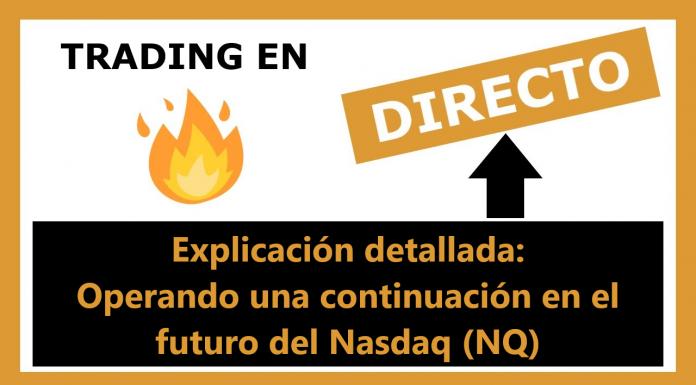 Trading en directo - 20 de febrero de 2019 en Nasdaq (NQ) - Sistema EPyF